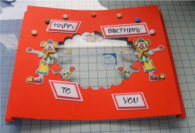 free card project 3D frame