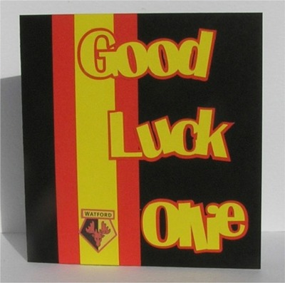 Good luck card words for craft robo